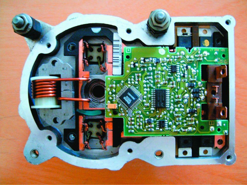 a hidraulikus motor bekapcsol