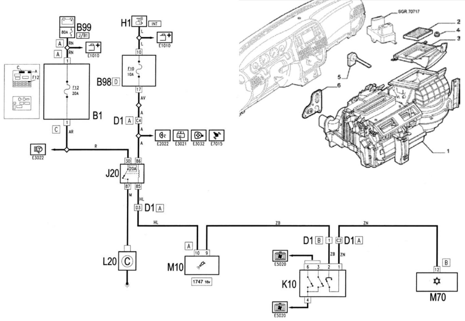Audi a4 klíma vezérlő hiba