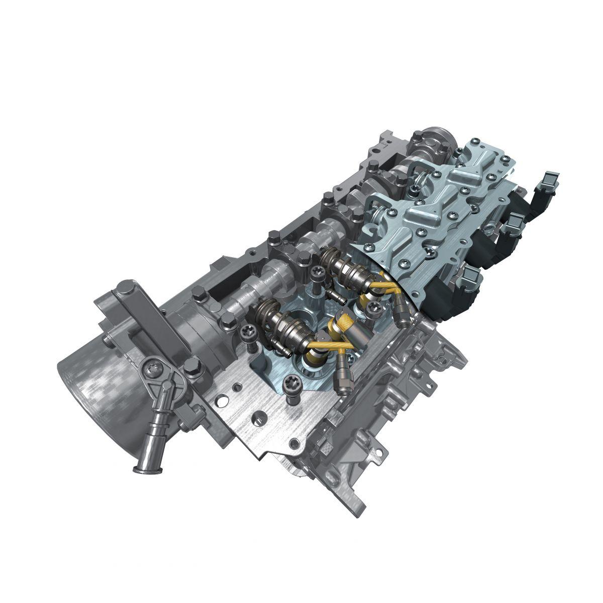 Dízel és benzines motorokon is használható hengerfej