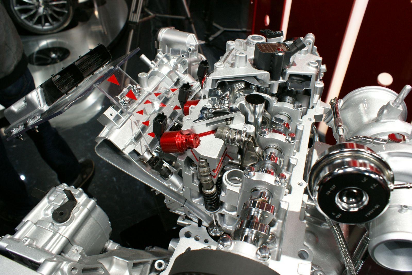 Fiat MultiAir hengerfej